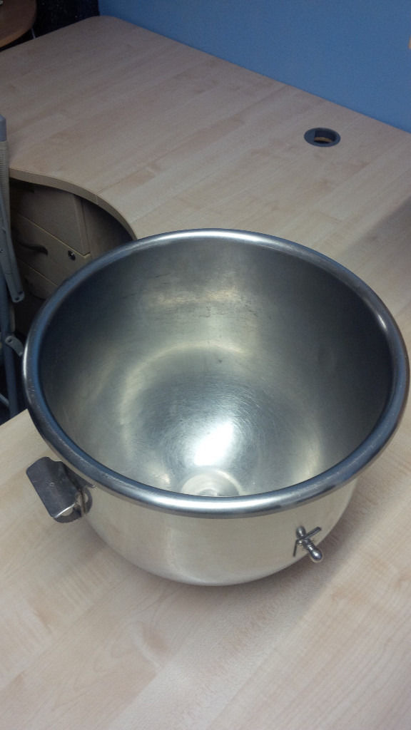 Hobart Stainless Steel Bowl for 20 Litre Hobart Mixer