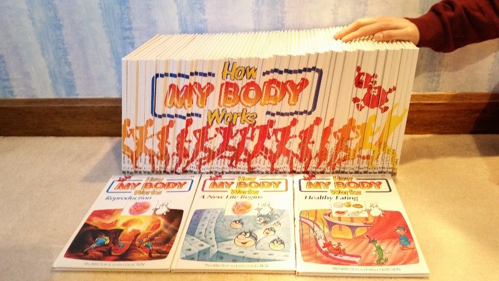 HOW THE BODY WORKS SET OF BOOKS