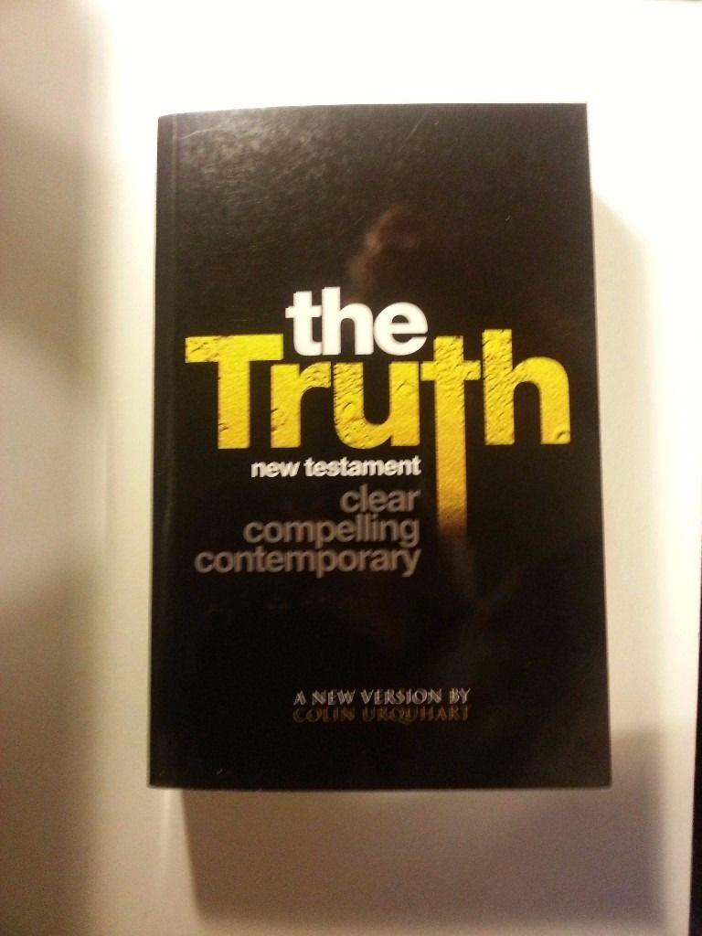 The truth , by collin urquhart, bible, new testament