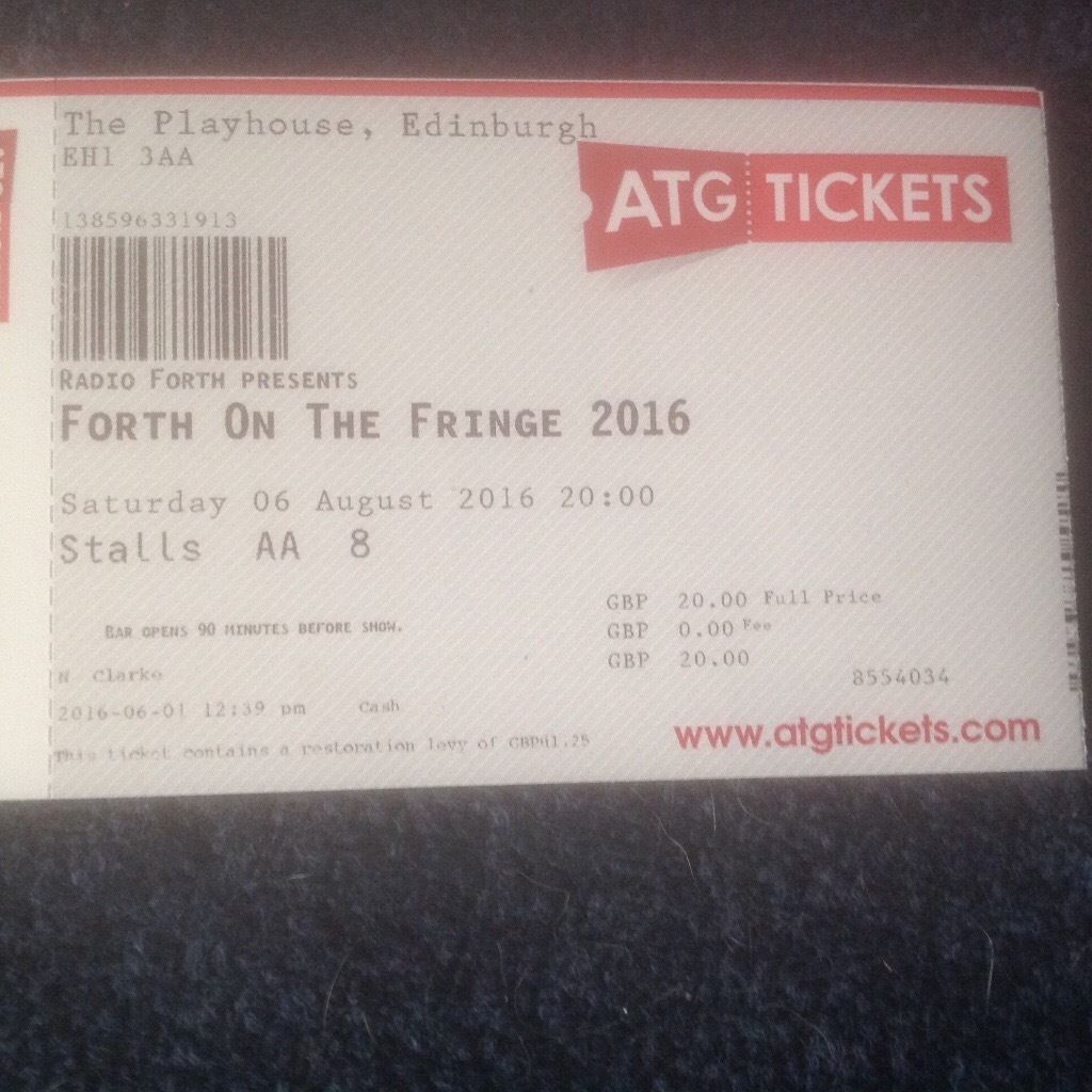 Forth on the Fringe ticket