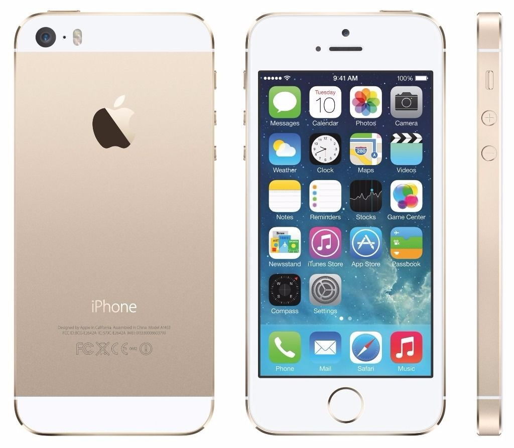 Lost iPhone 5s White and Gold colour
