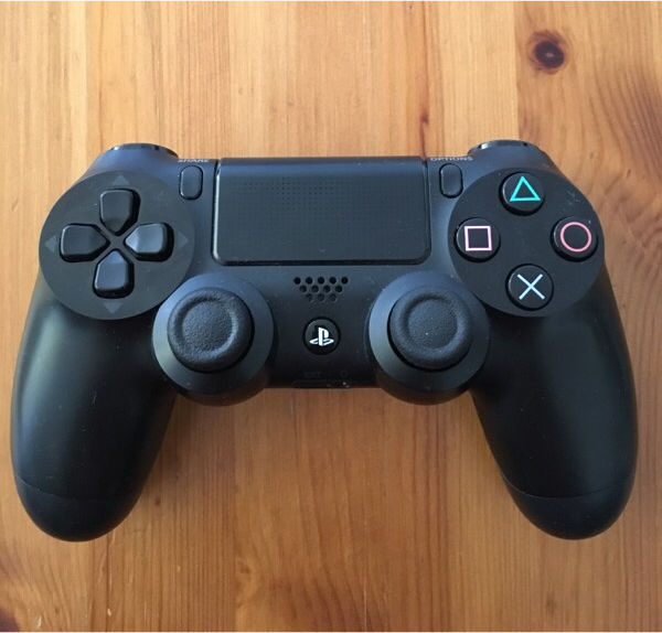PS4 Official Dual Shock 4 Black Controller