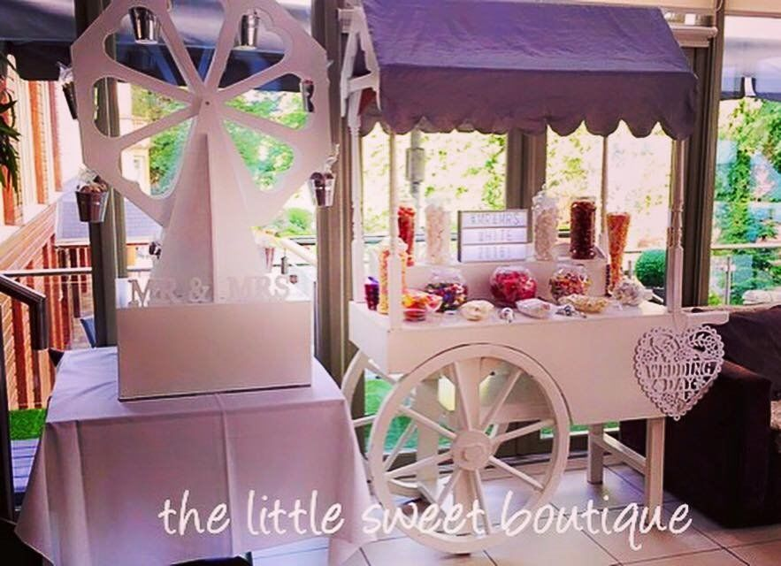 CANDY CART - FERRIS WHEEL - 4FT LED LETTERS - BALLOONS