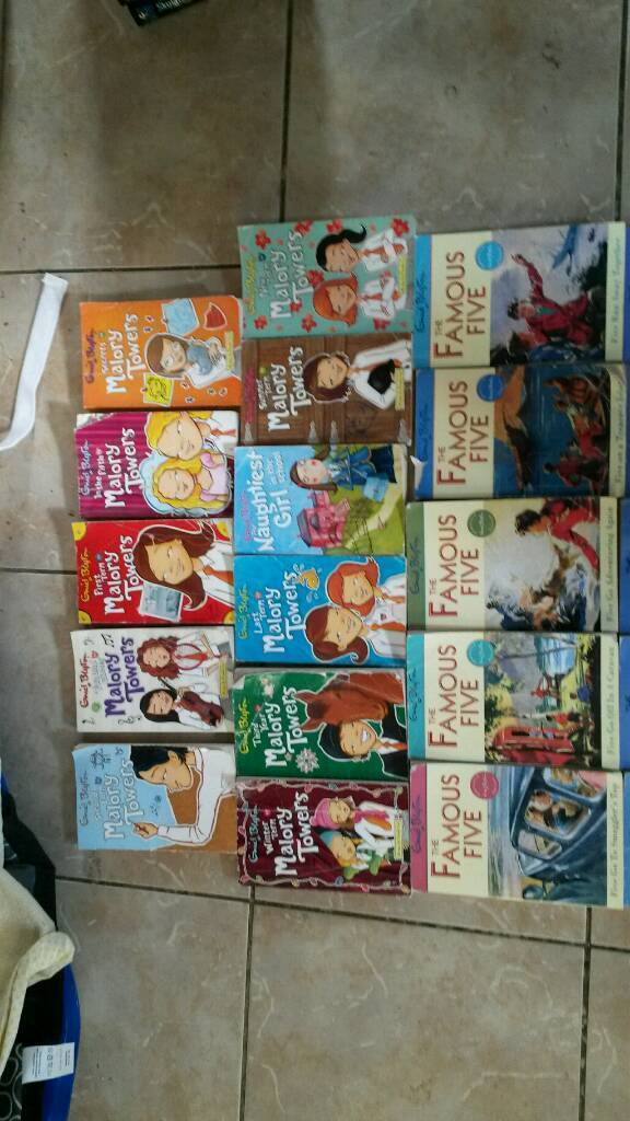 Enid Blyton kids book job lot 19 in total