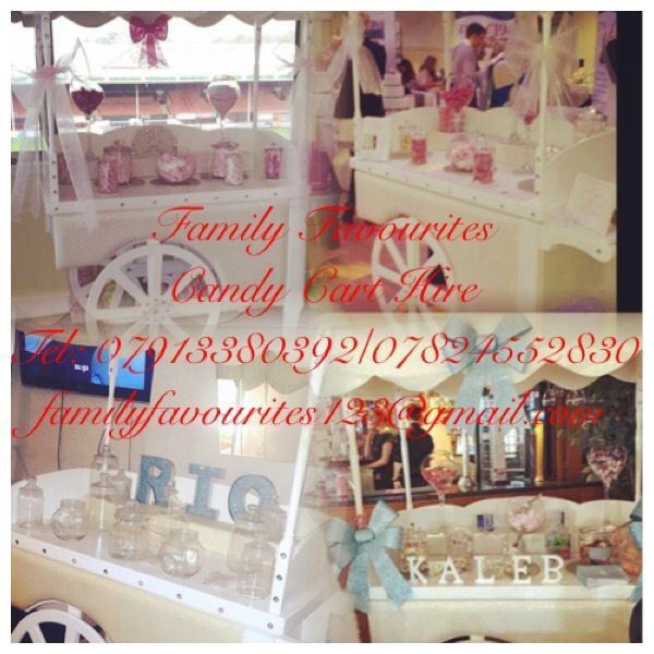 Large Candy Cart Hire