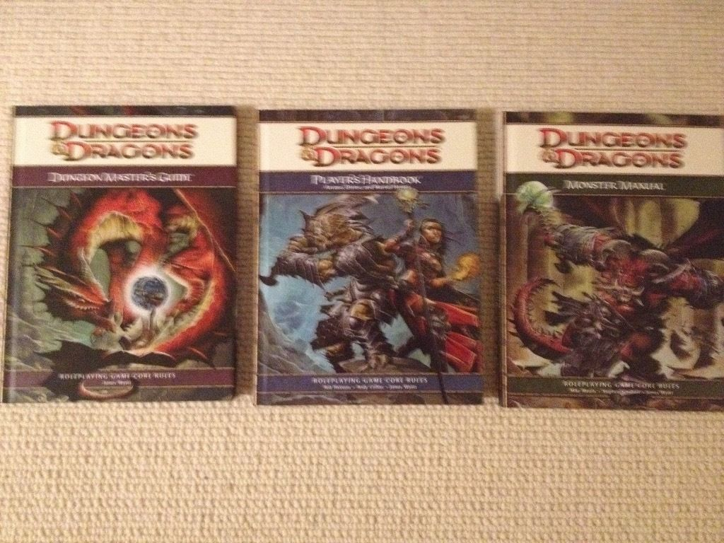 Dungeons and Dragons Handbook Bundle 4th Edition