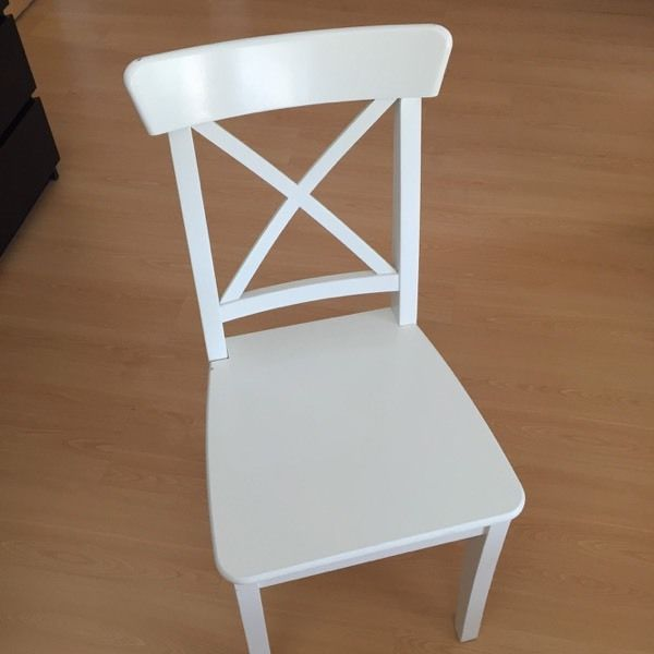 Solid wood IKEA INGOLF chair