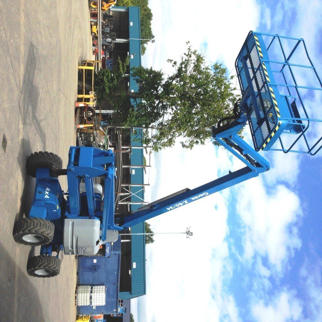2006 GENIE Z60-34 66FT ARTICULATING DIESEL BOOMLIFT / CHERRY PICKER / TEELSCOPIC