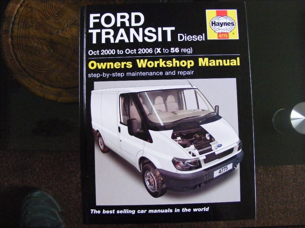 Transit Mk6 Haynes Manual like new