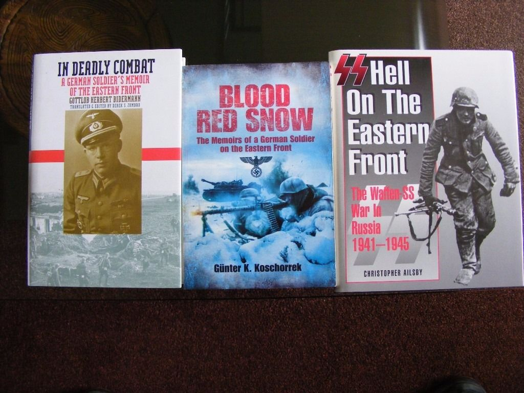 WW2 German fact books. Eastern Front. Very Good condition.