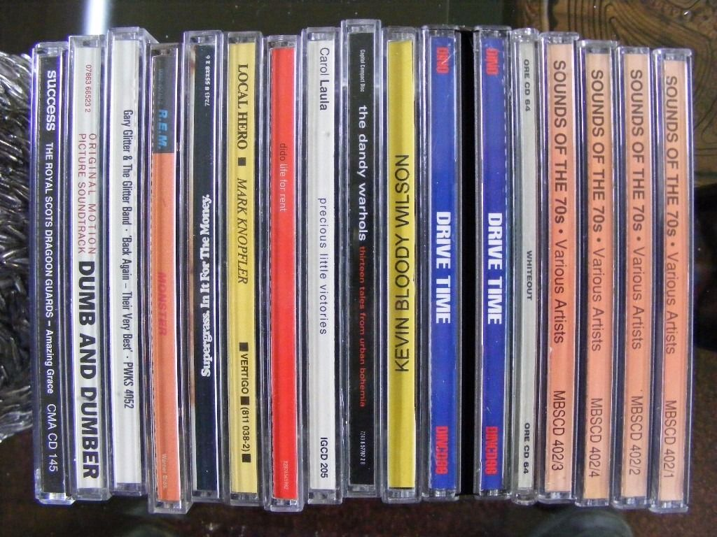 A CD clearout. approx 30 various.