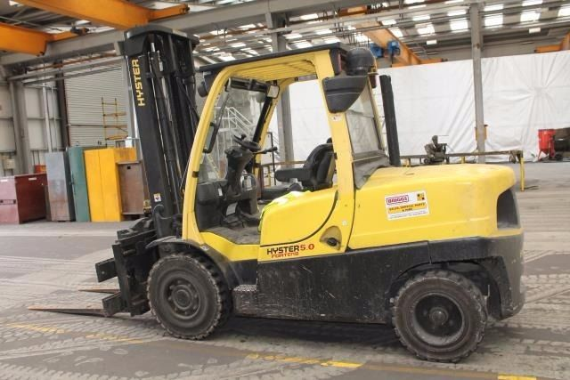 HYSTER H5.OFT 5 TON FORKLIFT C/W ROTATION HEAD