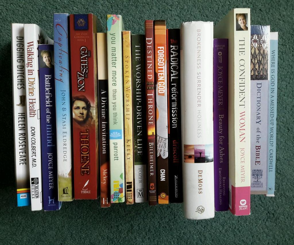 Collection of 17 Christian Books