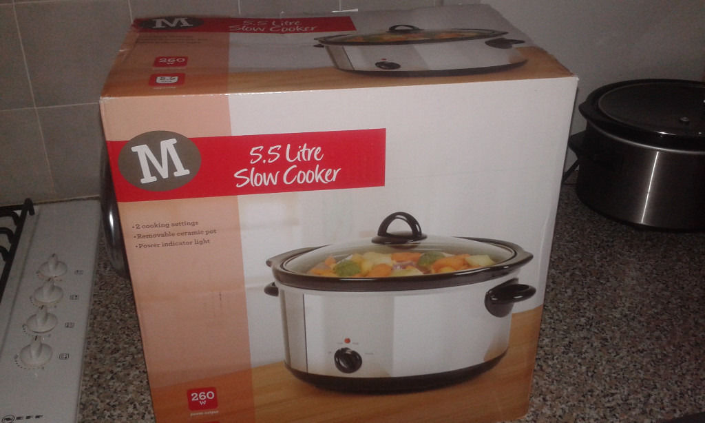 Morrisons Slow Cooker - Never Used. Absolute Bargain