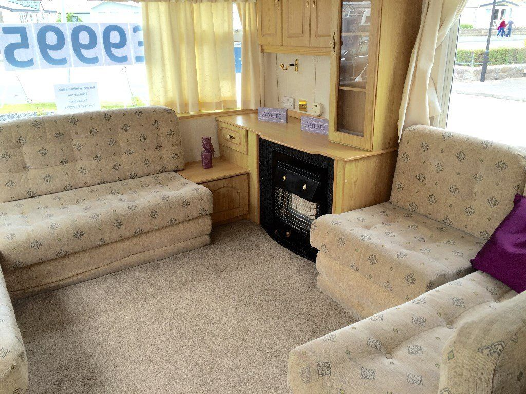 STATIC CARAVAN FOR SALE- SITED TY MAWR - TOWYN