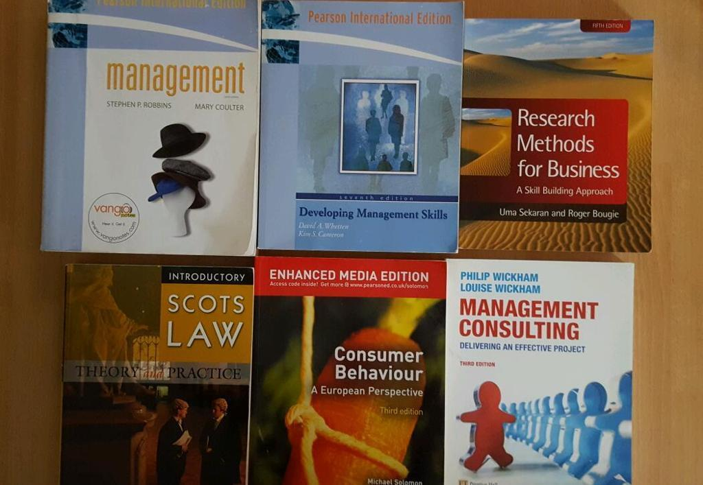 Selelction of Management & Marketing Books.