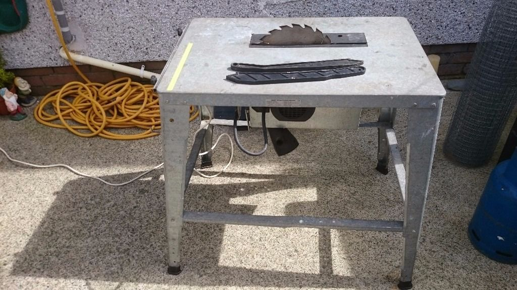 Draper contractors 240volt 2 kw saw bench with 315mm blade