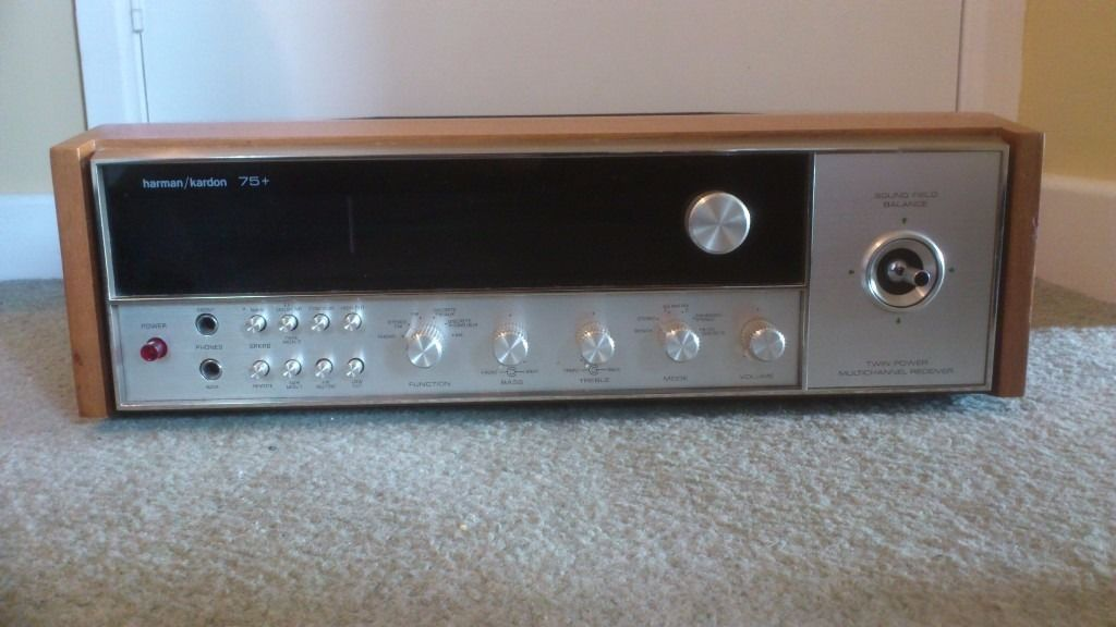 HARMAN / KARDON 75 + Quadraphonic Tuner / Amplifier.