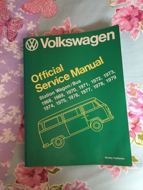 Official service manual VOLKSWAGEN