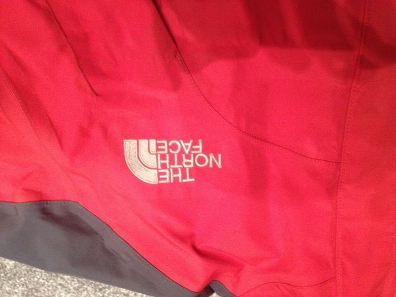 North Face Goretex (xcr) jacket - red, medium