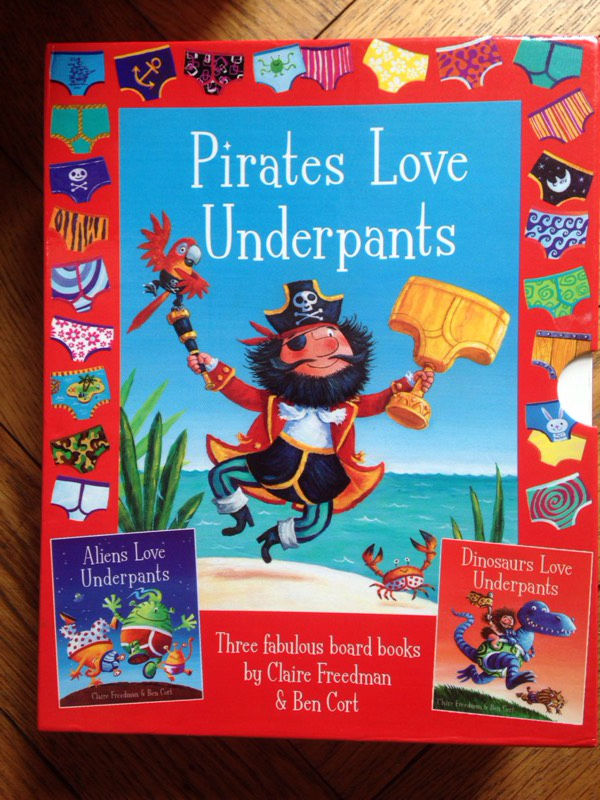 Underpants box set