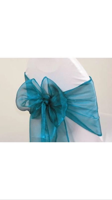 Organza sashes 49p each