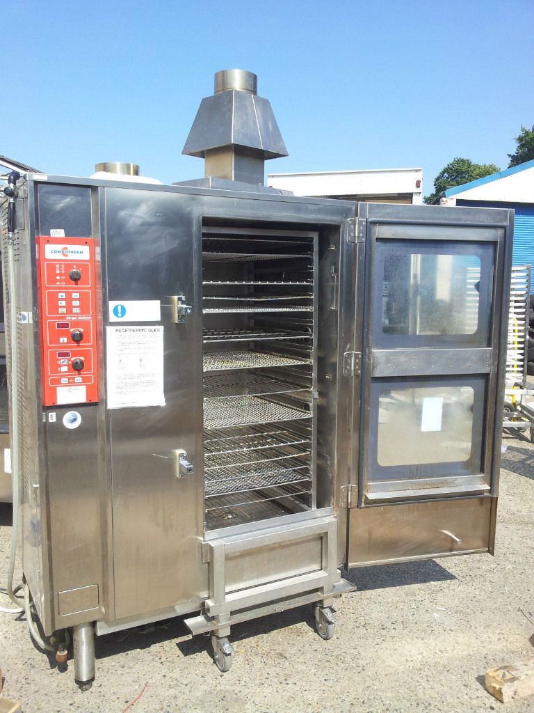 BAKERY EQUIPMENT 2 Convotherm OD20,20G 40 Grid Combi Steam Oven NAT-GAS