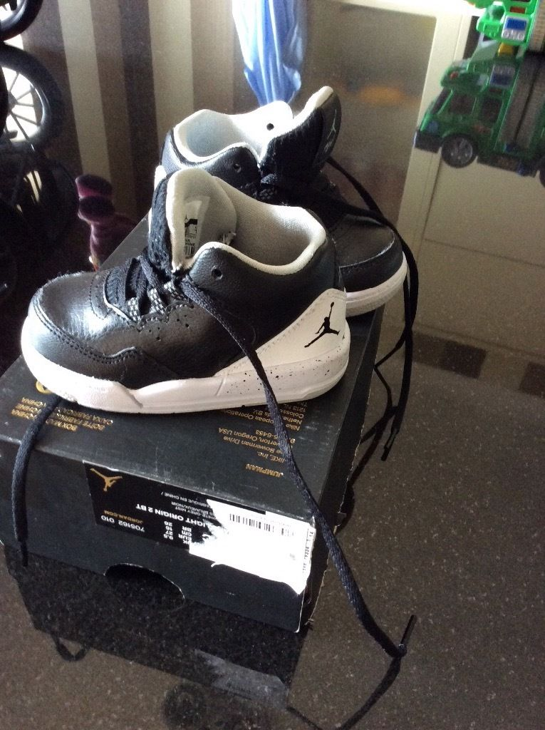 Jordan flight origin trainers toddler c4.5