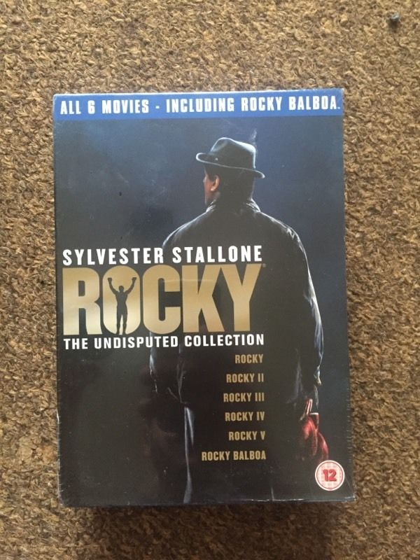 Rocky collection, first 6 films on dvd