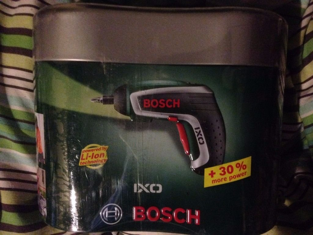 Bosh cordless screwdriver - BRAND NEW and unopened
