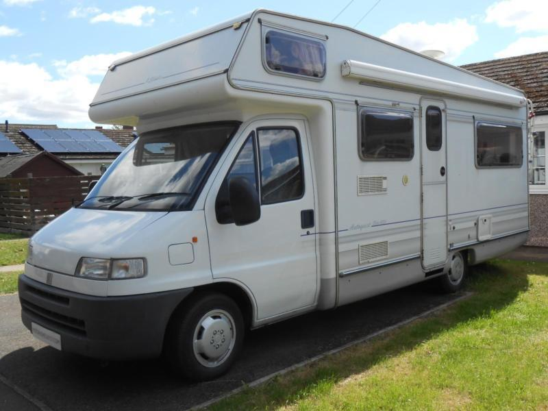 Elddis Autoquest 420 6 Berth Motorhome 6 Seat Belts. Rear Lounge/Dinette/Bed
