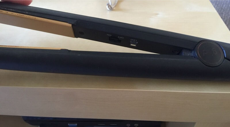 Faulty GHD straighteners