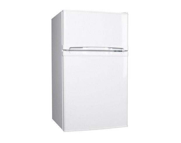 //(%)\ CURRYS ESSENTIAL UNDER COUNTER FRIDGE FREEZER INCLUDES 6 MONTHS GUARANTEE