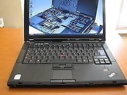 Lenovo T61 Intel Core 2 Duo 2Ghz 4GB Ram 160GB HD Windows 7 Charger and Case Excellent Condition