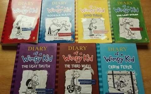 Diary wimpy kid 7 book collection kids