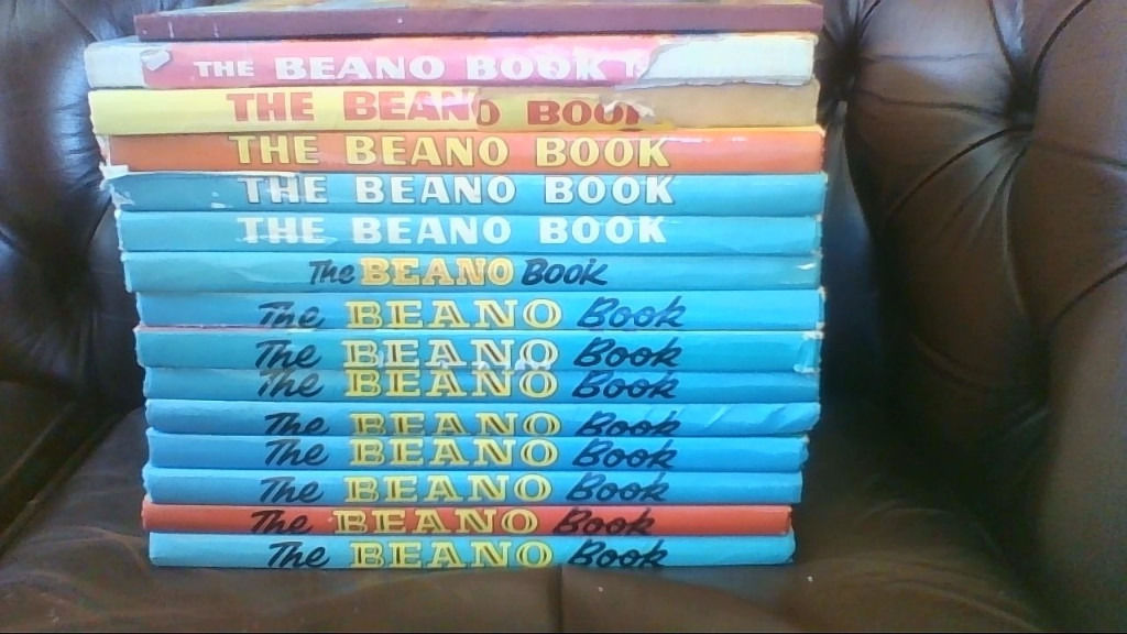 14 Beano Books (1971-1984 inc) and 1 Oor Wullie book