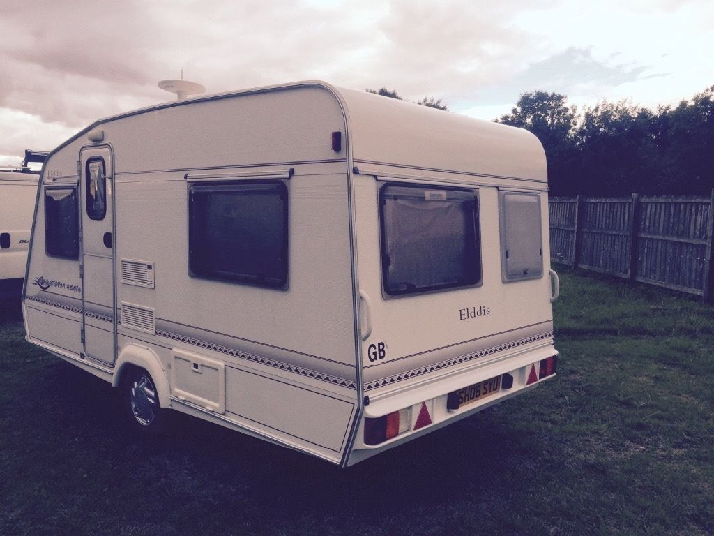 Elddis firestorm 400/4 year 2000 with awning