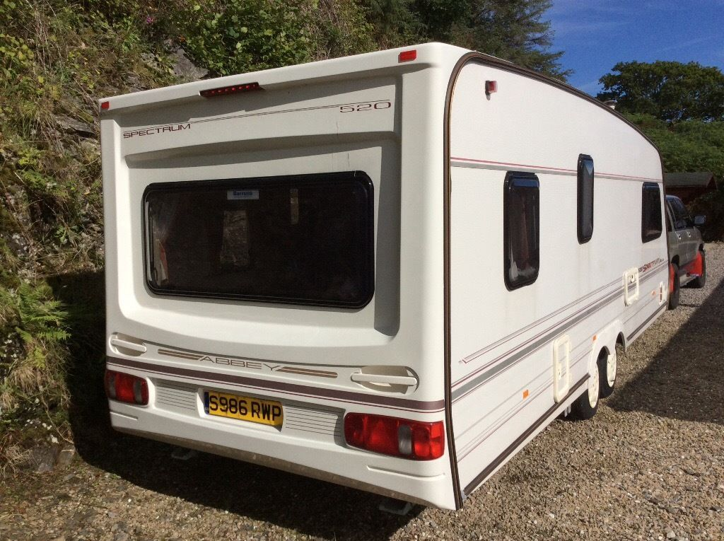Abbey Spectrum 520. Double axle caravan. Part ex / swap?