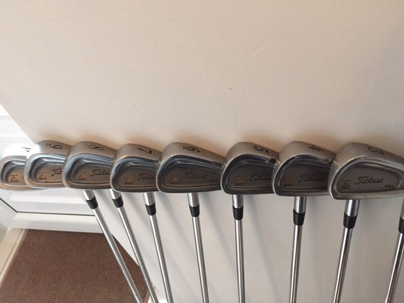 Titleist DCI 981 irons 3-PW