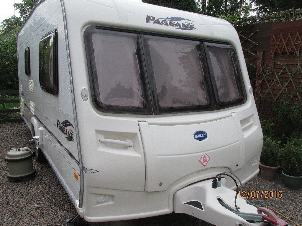 BAILEY PAGEANT MONARCH series 5 2 berth with 8ft AWNING 2006