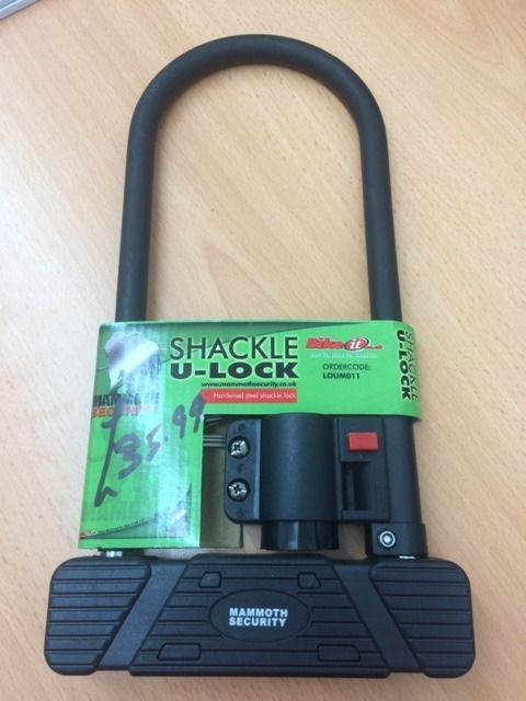 New Mammoth Shackle U-Lock
