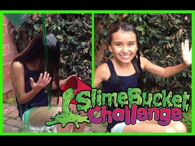 Get Slimed For Charity - The Slime Bucket Challenge Action For Children