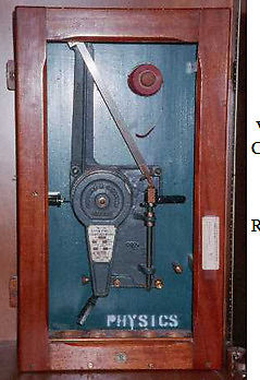Atwood Machine (physics equipment) made by Cusson in Manchester