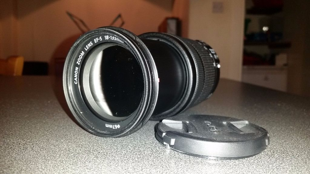 Perfect Condition Canon 18-135mm Lens