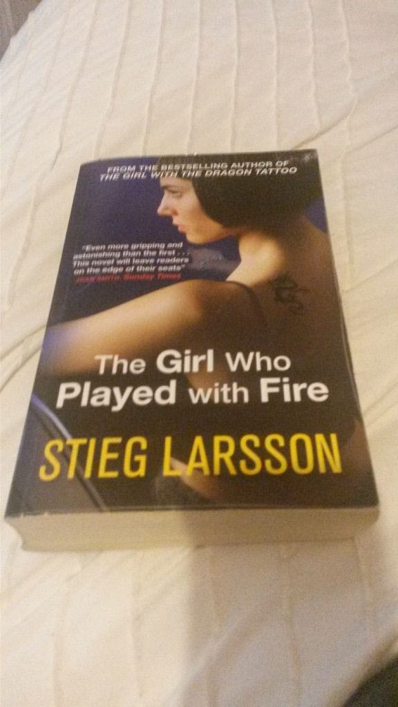 the girl who played with fire.