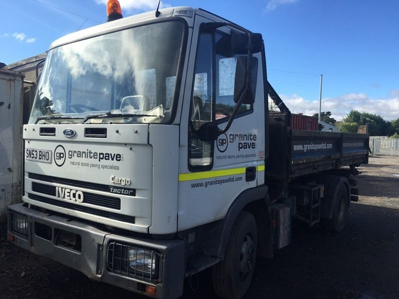 7.5 ton Ford Iveco tipper
