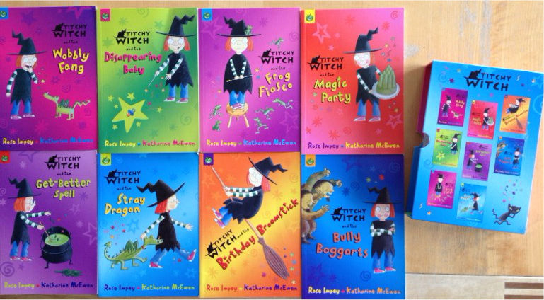 Titchy Witch book set
