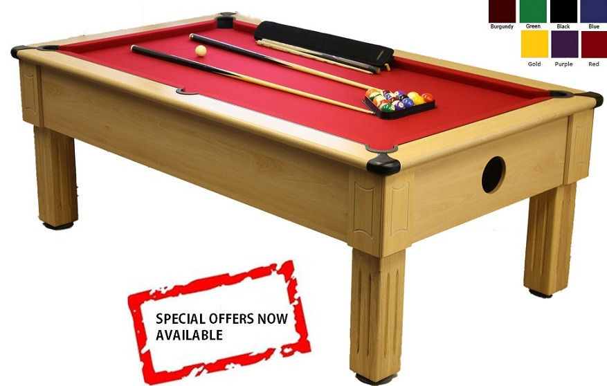 POOL TABLE 7x4 SLATE BED **NEW**