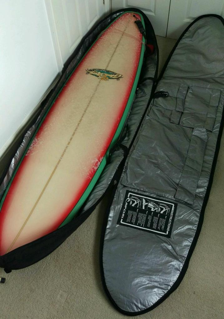 Fantastic 7,6 Ft Glen D'arcy surfboard