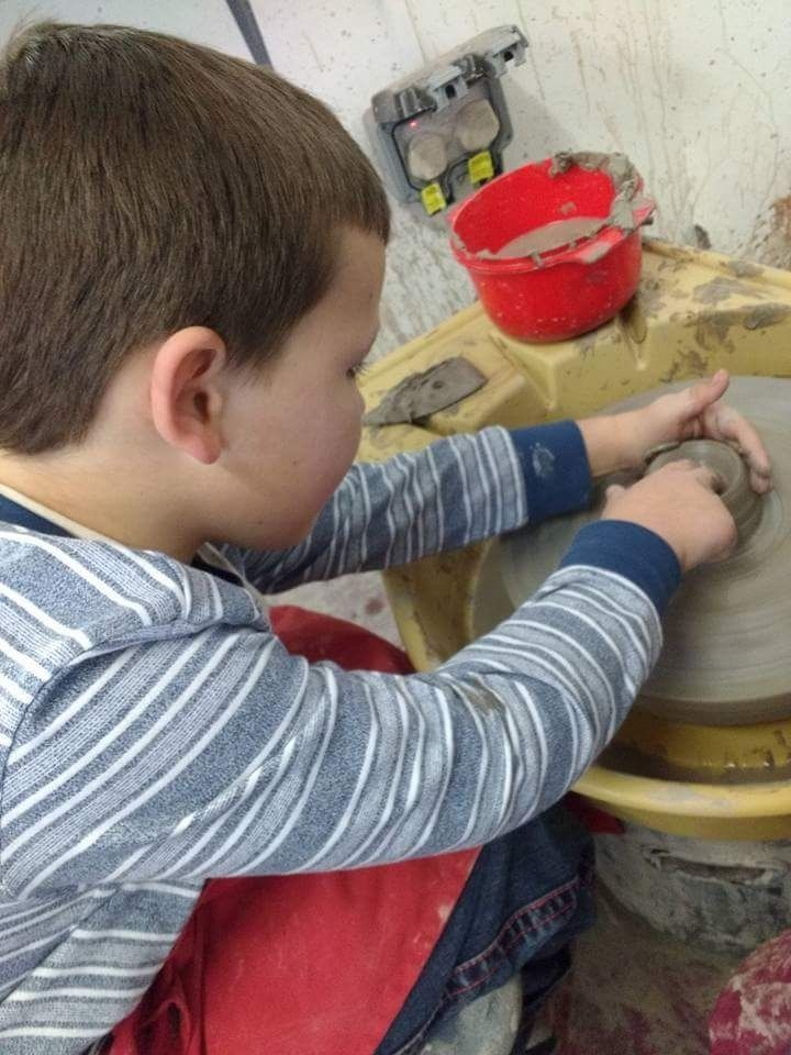 CHILDRENS POTTERY DAY @ DRAGON ARTS CHARITY PONTARDAWE
